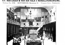 1992-4518 Interieur van N.V. Houtzager en Van der Valk's Handelsvereniging aan de Bierstraat.