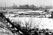 1992-50 Gezicht op de.Groene Hilledijk. Verderop Vreewijk.