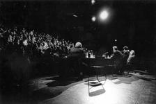 1993-3096 Discussie over de culturele boycot van klein Yoegoslavie in Lantaren Venster tijdens het Film Festival Rotterdam.