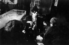 1993-3100 Romane Bohringer wordt geinterviewd tijdens het Film Festival Rotterdam.