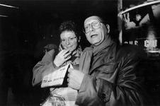 1993-3110 Bezoekers in bioscoop Lumiere tijdens het Film Festival Rotterdam.