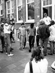 1993-3272 Politie-actie tegen drugsoverlast in de wijk Middelland.