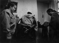 1993-3281 Politie-actie tegen drugsoverlast in de wijk Middelland.