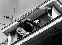 1993-3282 Politie-actie tegen drugsoverlast in de wijk Middelland.