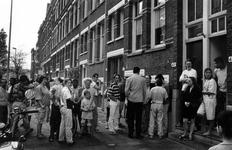 1993-3284 Politie-actie tegen drugsoverlast in de wijk Middelland.