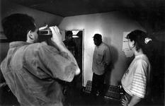 1993-3285 Politie-actie tegen drugsoverlast in de wijk Middelland.