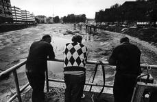 1993-3339 Demping van de Zalmhaven in aanloop tot de bouw van de Erasmusbrug.