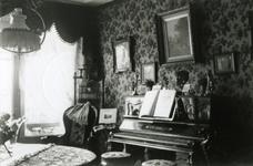 1993-3500 Interieur woning nummer 194, van de familie De Heer aan de Boezemsingel.