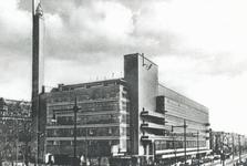 1993-6104 Warenhuis de Bijenkorf aan de Schiedamsesingel, gezien vanaf de Coolsingel.