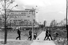 1993-6459 Parkje langs het Weena. Uit westelijke richting gezien.