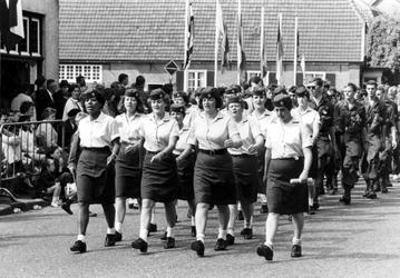 1993-6480 Israëlische vrouwelijke militairen doen voor de eerste keer mee aan de Vierdaagse in Nijmegen.