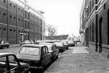 1993-6563 De Rivierstraat uit noordelijke richting gezien.