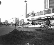 1994-1563 Aanleg van de Beurstraverse onder het Beursplein en Coolsingel.