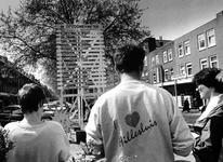 1994-1997 Op de Groene Hilledijk is wegens de Opzoomerdag een Opzoomermeter geplaatst.