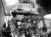 1994-2113 Drukte op de Parkkade tijdens de Wereldhavendagen.