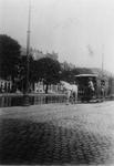 1994-371 Gezicht op de Schiekade met de paardentram naar Overschie. Met de Rotterdamse Schie.