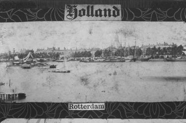 1994-465 Gezicht op de Boompjes aan de Nieuwe Maas.
