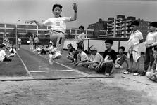 1995-1288 Chinese sportdag. Meer dan 400 kinderen uit Taiwan, Hongkong en Chinese Volkrepubliek houden een sportdag op ...