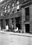 1995-160 Gezicht in de Volmarijnstraat.