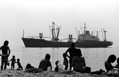 1997-1868 Op het strand van Hoek van Holland.
