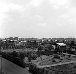 1998-1059 Gezicht op het volkstuincomplex Blijdorp aan de Zestienhovensekade.