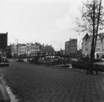 1998-1086 De Rotte met de Karnemelksbrug gezien vanaf de Linker Rottekade.