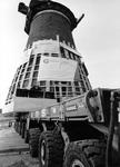 1998-660 De Pendrechtse Molen, gebouwd in 1731, wordt verplaatst naar de gemeente Barendrecht.