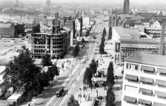 1998-937 Geraseerde delen en resten van gebouwen als gevolg van het Duitse bombardement van 14 mei 1940. Overzicht van ...