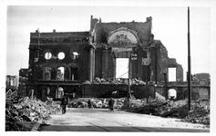 1998-940 Gezicht op de door het Duitse bombardement van 14 mei 1940 getroffen Botersloot. Als gevolg van het ...