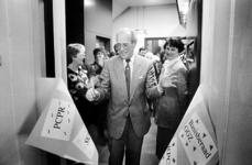 2000-1033 Opening van een pand aan de Zomerhofstraat voor onder meer het Basisberaad Geestelijke Gezondheidszorg en het ...