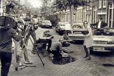 2000-549 4 augustus 1998In de Delfgaauwstraat vinden de opnamen plaats voor de televisieserie Ben zo terug.