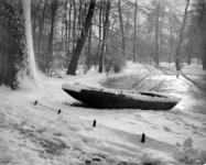 2001-1219 Het Park in de sneeuw.