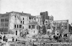 2001-2012 Puinresten na het bombardement van 14 mei 1940. Botersloot en omgeving telefoonkantoor.