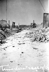 2001-2145 Gezicht in de door het Duitse bombardement van 14 mei 1940 getroffen Tuindersstraat . Als gevolg van dit ...