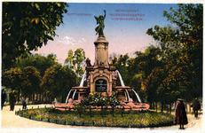 -1089-1-TM-16 Album met prentbriefkaarten van uitgeverij J.H. Schaefers Fotochrome te Amsterdam.Selectie van 4 ...