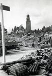 -45-1-TM-75 Album met foto's betreffende de door het Duitse bombardement van 14 mei 1940 getroffen binnenstad van ...