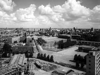 2004-5490 Panorama vanaf het Dijkzigt Ziekenhuis op de Wytemaweg.