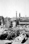 2004-55-13 Gezicht op de door het Duitse bombardement van 14 mei 1940 getroffen Coolsingel. Als gevolg van het ...