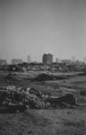 2004-55-16 Gezicht op de door het Duitse bombardement van 14 mei 1940 getroffen omgeving van de Boshoek.Gezien vanaf de ...
