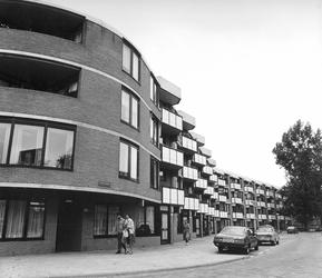 2004-5654 Noordeinde met bejaardentehuis De Nieuwe Plantage.