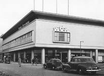 2004-6008 Het Rodezand en het Beursplein met warenhuis V & D, rechts de Hoogstraat.