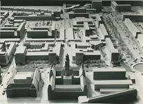 2004-7565 Maquettes van het stadscentrum, periode 1955 tot ca. 1990, met onder meer: Boompjes, Grotekerkplein, ...