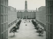 2004-7566 Maquettes van het stadscentrum, periode 1955 tot omstreeks 1985, met onder meer: Lijnbaan, Schouwburgplein, ...
