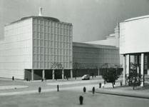 2004-7567 Maquettes van het stadscentrum, periode 1955 tot omstreeks 1974, met onder meer: Beursplein, Coolsingel, ...