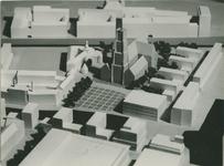 2004-7569 Maquettes van Grotekerkplein, periode 1949 tot 1955. Bijgaand een selectie van 2 afbeeldingen uit een reeks van 7.
