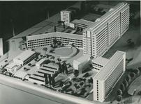 2004-7575 Maquettes van Dijkzigt Ziekenhuis, periode van 1949 tot 1952. Getoond wordt hier een selectie van van 3 ...