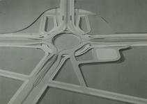 2004-7576 Maquettes van diverse pleinen, ca.1947-1971. Van boven naar beneden:-1: Locatie onbekend.-2: ...
