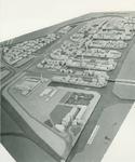 2004-7589 Maquettes van de Overschie, Kleinpolder en de Spaanse polder, ca. 1948-1953. Een selectie van 3 opnamen uit ...