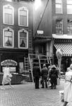 2005-10016 De Oude Binnnenweg bij de sloop van het pand van de sigarenwinkel.