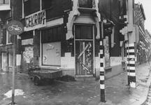 2005-10017 Kraakpand op hoek van Schiekade en Provenierssingel.